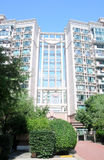 Shanghai apartment buildings Stock Photography