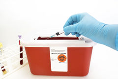 Sharps Container Royalty Free Stock Photos