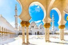 Sheikh Zayed Mosque, Abu Dhabi Stock Foto