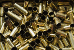Shell casing Royalty Free Stock Photography