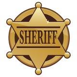 Sheriff Badge Icon Royalty Free Stock Photos