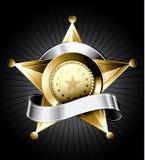 Sheriff Badge Illustration Stock Photo