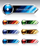 Shiny Buttons Royalty Free Stock Image