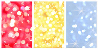 Shiny christmas abstract backgrounds Stock Images