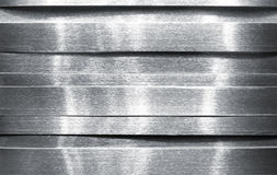 Shiny metal strips Royalty Free Stock Images