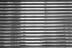 Shiny metal wall Stock Images