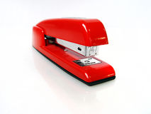 Shiny Red Stapler Royalty Free Stock Images