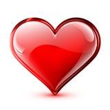Shiny vector heart Royalty Free Stock Image