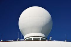 Ships Radar Dome Stock Images