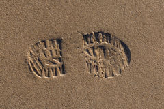 Shoe Print Royalty Free Stock Images