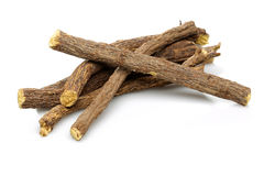 Süßholzwurzelstöcke Stockfoto