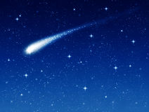 Shooting star Royalty Free Stock Photography