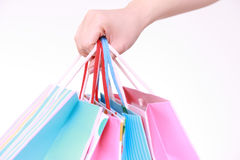 Shopping addiction Royalty Free Stock Images