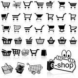 Shopping Cart Icon Royalty Free Stock Photos