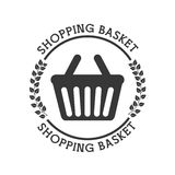 Shopping pictogram Stock Photo