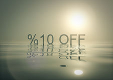 Shopping Promotions Bundle 10  Off Stock Images