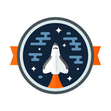 Shuttle badge Stock Photo