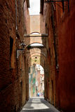Siena. Old Town Royalty Free Stock Image