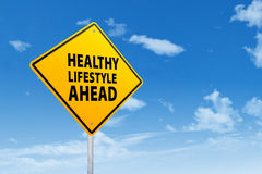 Sign of healthy lifestyle Stock Photography
