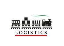 Sign logistics. Stock Photos
