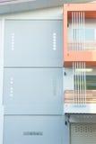 Simplemente estilo del nuevo edificio Foto de archivo libre de regalías