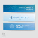 Simplicity banner template design Royalty Free Stock Photography