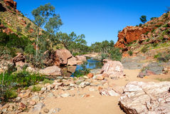 Simpsons Gap (Australia Northern Territory) Stock Photo