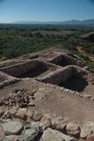 Sinagua indian ruins at Tuzigoot Stock Photo