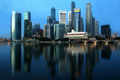 Singapore Cityscape Royalty Free Stock Images