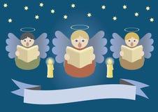 Singing angels Royalty Free Stock Photos
