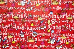 Sinterklaas Background Royalty Free Stock Photography