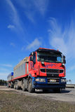 Sisu R500 Long Haulage Truck Stock Photos