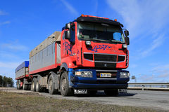 Sisu R500 Long Haulage Truck at Spring Royalty Free Stock Photo