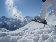 Ski fun Royalty Free Stock Image