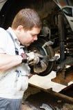 Skilled auto mechanic Royalty Free Stock Photo