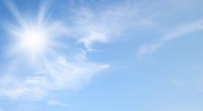 Sky and sun Stock Photos