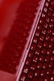 slank skärm för datortangentbord Royaltyfri Fotografi