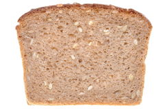 Slice of brown bread Royalty Free Stock Images