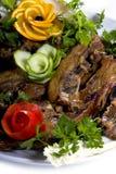 Smakelijke maaltijd Royalty-vrije Stock Foto's