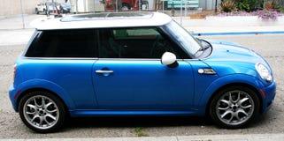 Small blue car Stock Photos