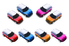 Small cars, MINI Stock Photography