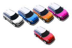 Small cars, MINI Stock Images