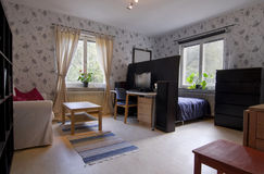 Small Cosy Apartment Stock Photography