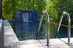 Small private pool in the house Royalty Free Stock Photo