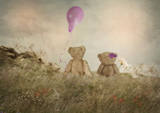 Small romantics Stock Image