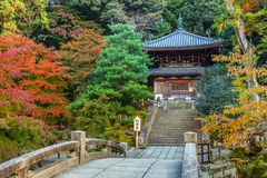 Small temple at Chion-in complex in Kyoto Stock Photo
