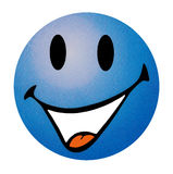 Smiling Emoticon. Stock Images