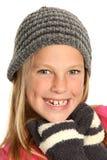 Smiling Kid wearing Gloves Stock Photo