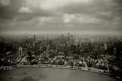 Smog in the city Stock Photo