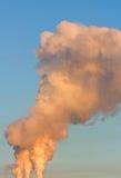 Smog in sky Stock Photo